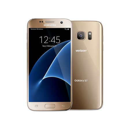Samsung Galaxy S7 SM-G930V 32GB Gold Verizon Wireless
