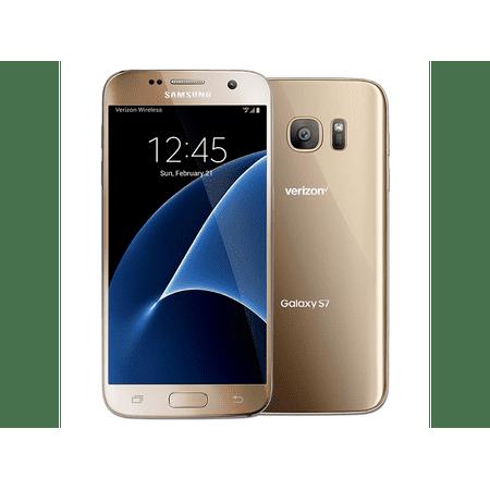 samsung galaxy s7 sm g930v 32gb gold verizon wireless