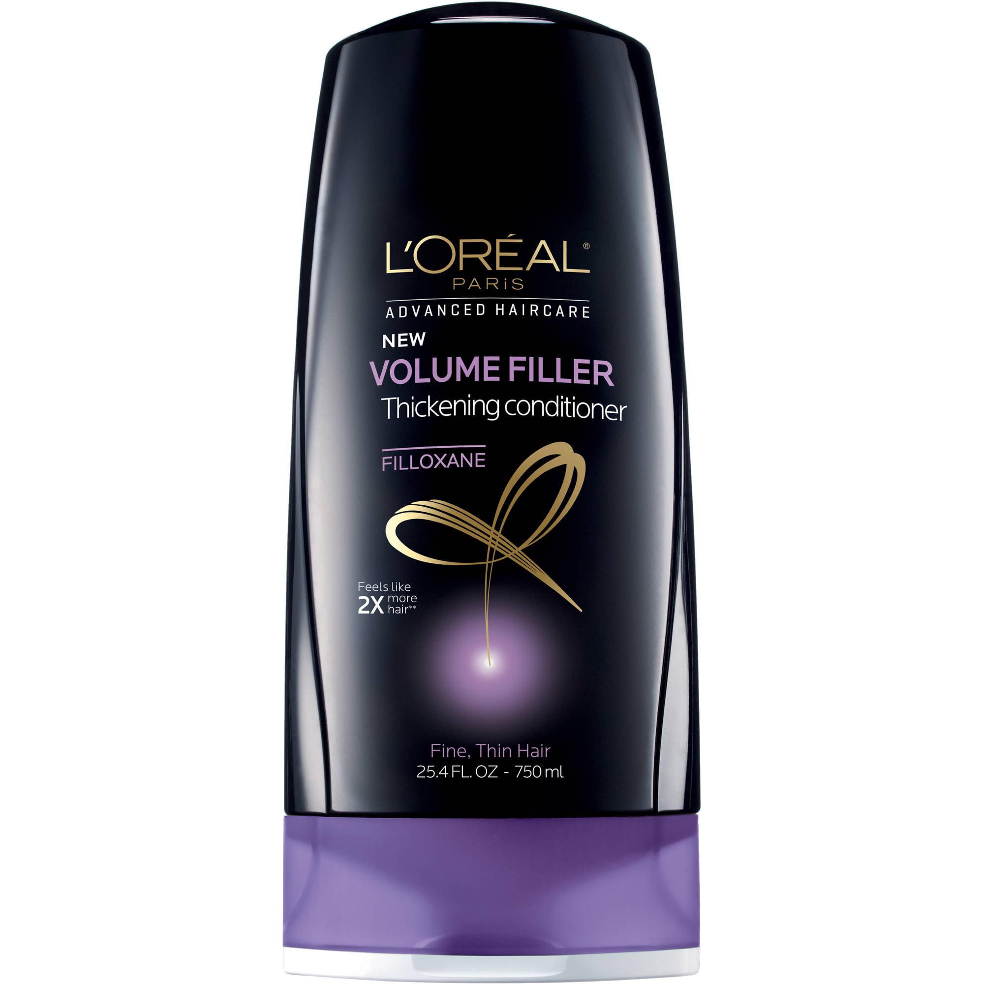 L'Oreal Paris Advanced Haircare Volume Filler Thickening Conditioner, 25.4 fl oz