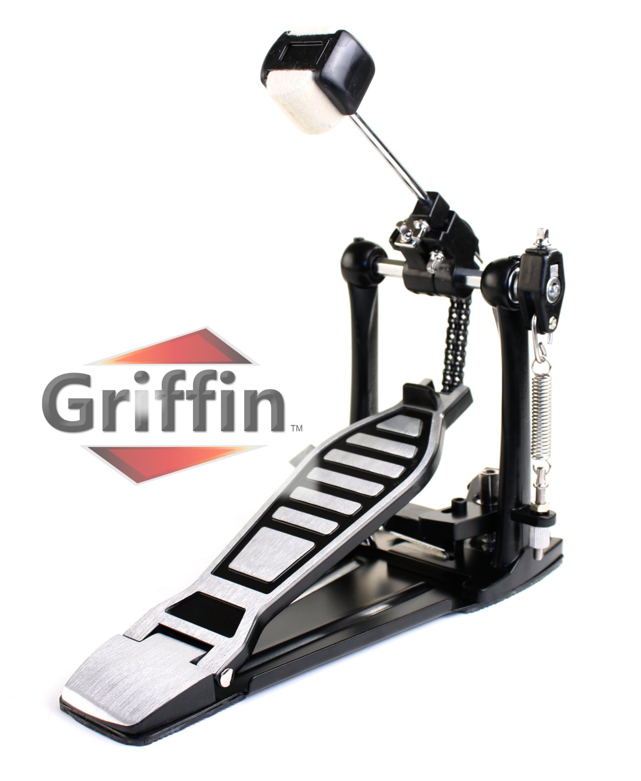 Complete Drum Hardware Pack 6 Piece Set by Griffin | Full Size Percussion Stand Kit with... by Griffin