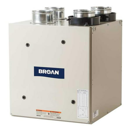 Broan-Nutone HRV80T 80 CFM Top Flex Series High Efficiency Heat Recovery (Series Custom Ventilator)