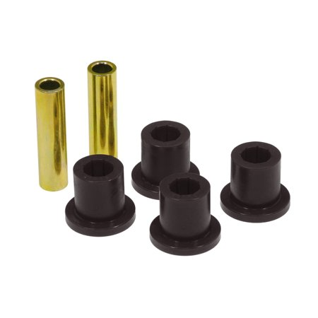 Prothane 87-96 Jeep Wrangler Front or Rear Frame Shackle Bushings - Black