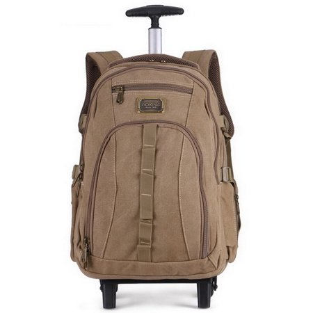 A K  Canvas School Luggage Backpack Tl3661 Kk