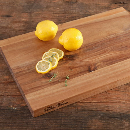 3 Piece Wood Cutting Board - The Pioneer Woman Cowboy Rustic 12