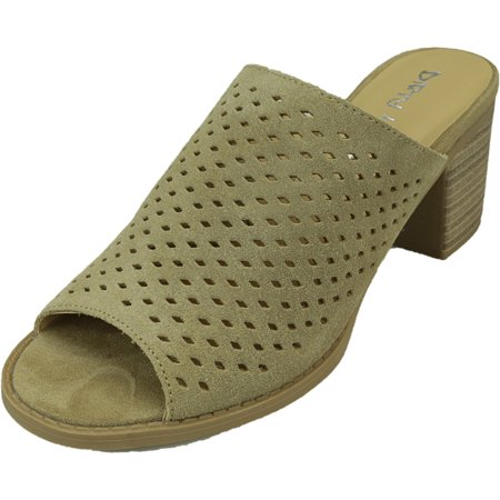 Dirty Laundry Womens Take All Suede Camel Heel - 7.5M