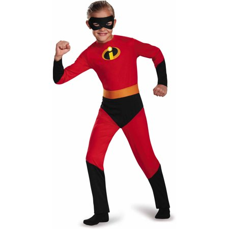 The Incredibles Dash Classic Child Halloween Dress Up / Role Play Costume (Elastigirl Incredibles Costume)