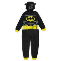 Lego Batman Boys Pajama Unionsuit Sizes 4-12