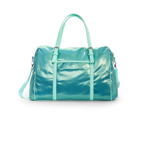 No Boundaries Metallic Weekender Bag