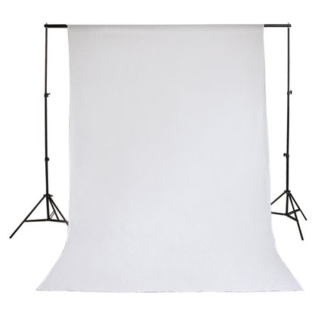 Zimtown 5x10 FT Screen 100% Non-woven Fabric Backdrop Photo Photography Background White - image 4 de 8