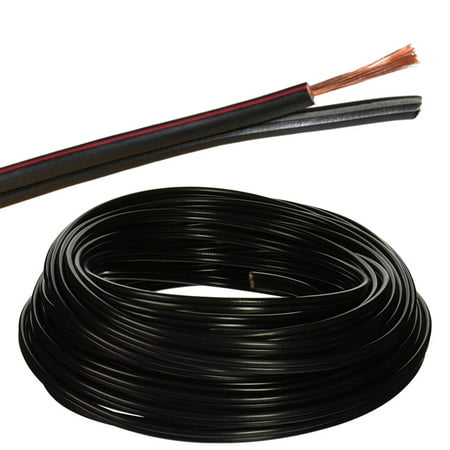 LOGICO 100 ft 14 Gauge Outdoor Direct Burial Landscape Lighting Wire on