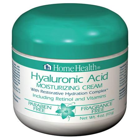 Hyaluronic Acid Moisturizing Cream Home Health 4 oz Cream