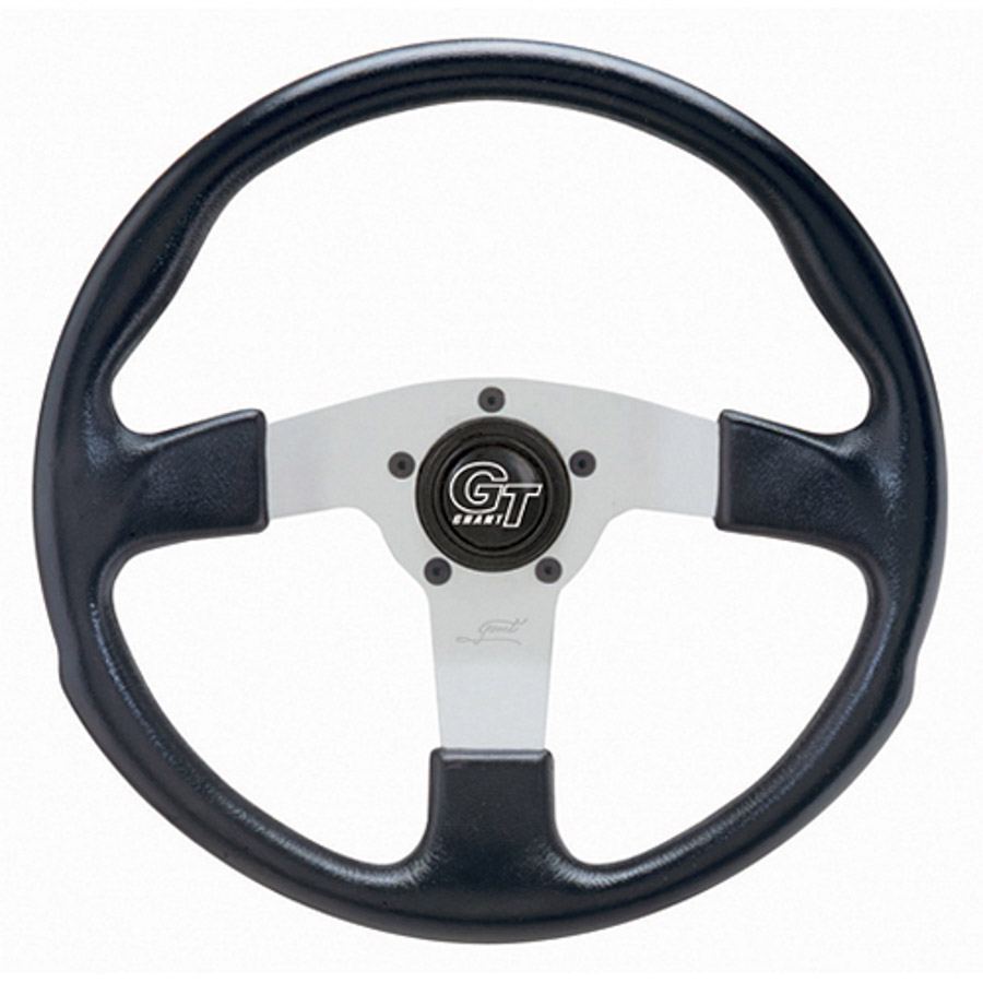 Grant Silver Anodize Aluminum 13 in Diameter GT Rally Steering Wheel P/N 760