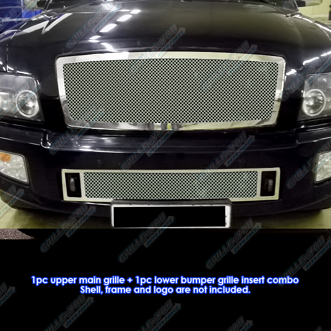 APS 2004-2010 Infiniti QX56 Stainless Steel Mesh Grille G...