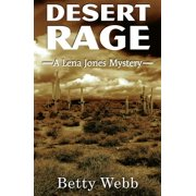 Lena Jones: Desert Rage (Paperback)(Large Print)