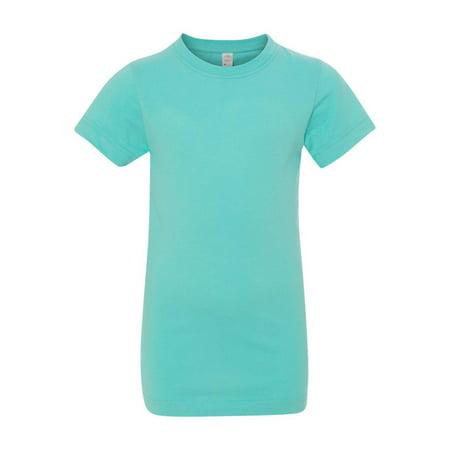 LAT T-Shirts Girls' Fine Jersey Tee 2616 (Girls Hc Jersey)