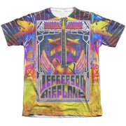 Jefferson Airplane San Francisco (Front Back Print) Mens Sublimation Shirt