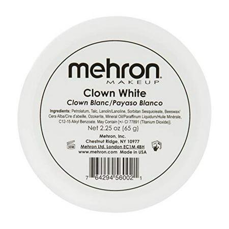 Best Wholesale Makeup (LWS LA Wholesale Store  Mehron Makeup Clown White Professional Makeup (2.25)