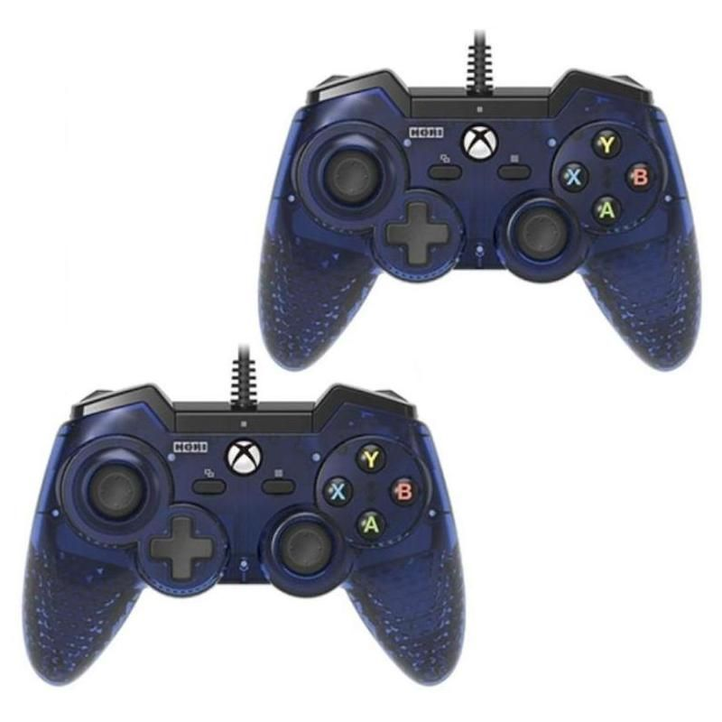 2-Pack Gem Pad One Wired Controller For Microsoft Xbox One - Blue