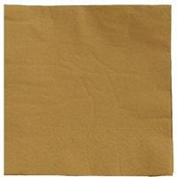 ad58afc26e Product Image Exquisite Disposable Luncheon   Dinner Napkins - Bulk 100  Count - Gold - High Quality Paper