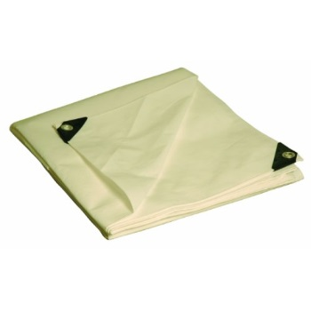 12x24 12x24 Multi-Purpose Silver//Brown Heavy Duty DRY TOP Poly Tarp