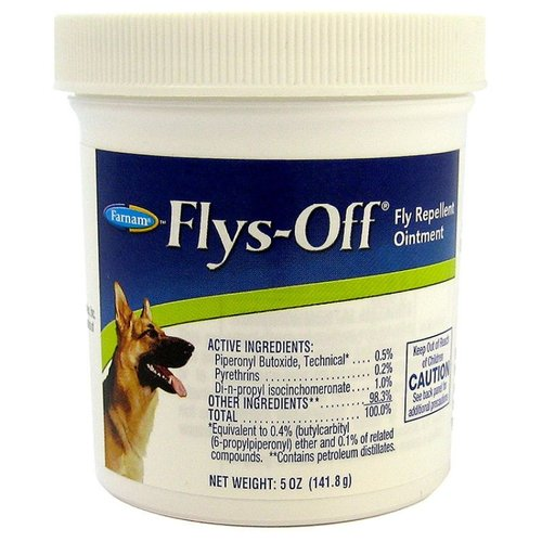 Farnam Flys Off Fly Repellent Ointment 5 Ounce Cream