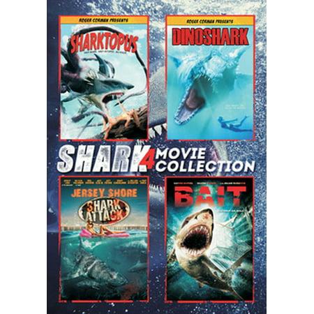 Shark 4-Movie Collection - Shark Sci Fi Movies
