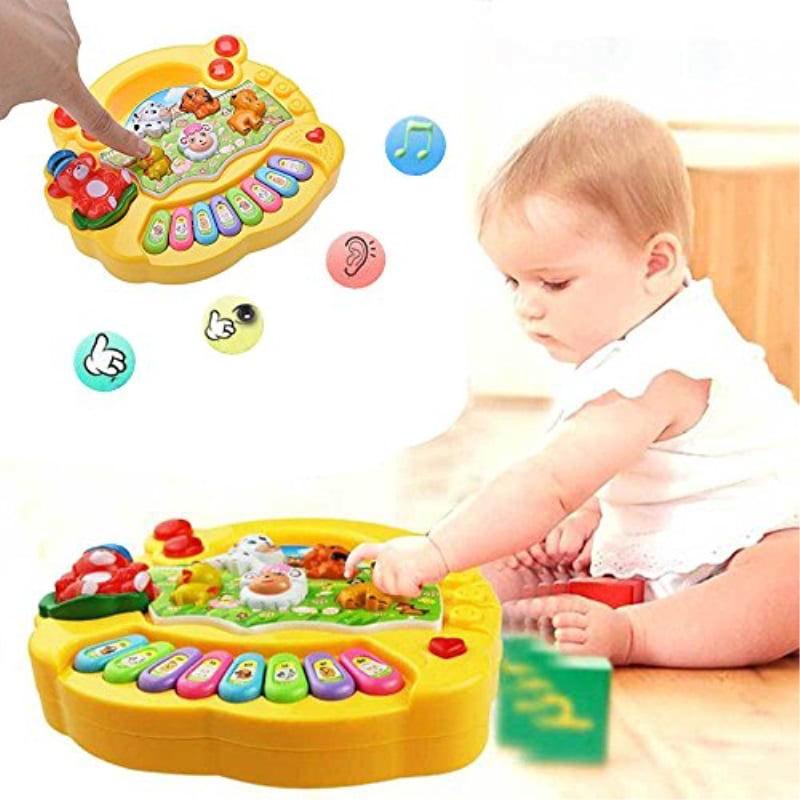Kids Musical Educational Animal Farm Piano Developmental Music Toy Baby Gifts