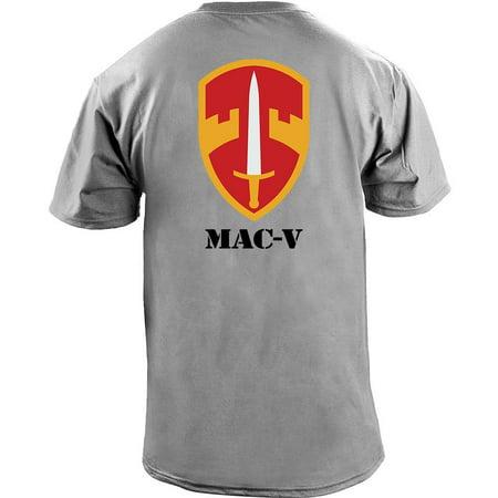 - Army MAC-V Unit Full Color Veteran T-Shirt