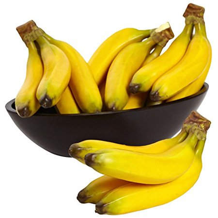 Faux Banana Bunch - Set of 4 Bunches ()