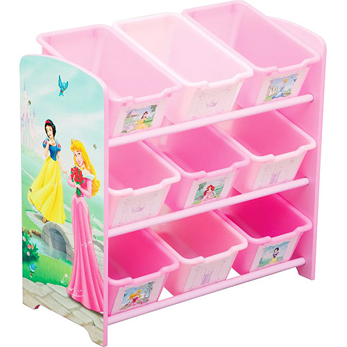 Incroyable Disney   Princess 9 Bin Toy Organizer