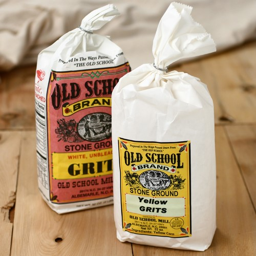 Old School Stone Ground Grits - Yellow Grits (2 pound)