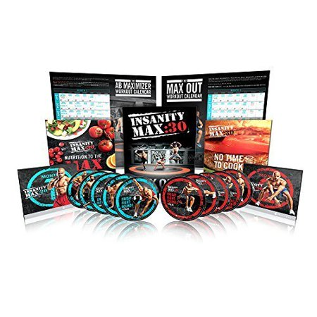 Kit complet INSANITY MAX: 30 de Shaun T - DVD Workout 13 DVD - image 6 de 6