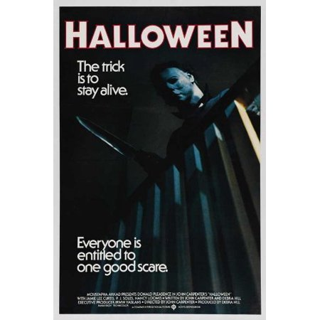 HALLOWEEN (1978) Movie Poster 24x36..., By The Gore Store Ship from US - Halloween Opening Theme 1978