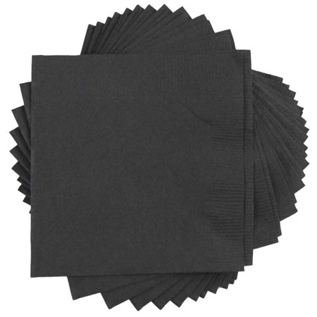 JAM Paper Small Beverage Paper Party Napkins, 5