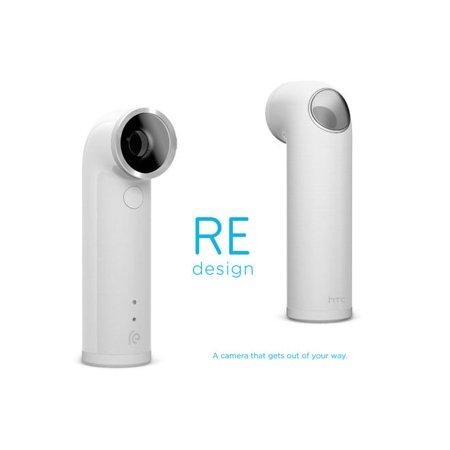 HTC RE 16.0MP 1080P Ultra-Wide Angle Lens Waterproof Digital Camera (White)