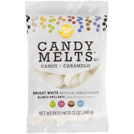 Color Chocolate Melts (Wilton Bright White Candy Melts® Candy, 12)