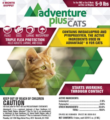 Image of Adventureâ ¢ Plus for Cats (5-9 lbs)