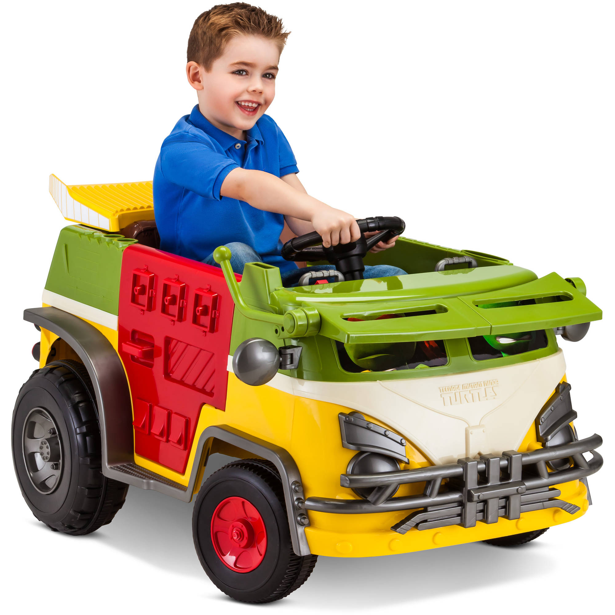 Kid Trax Teenage Mutant Ninja Turtles 6V Battery Powered Ride-On