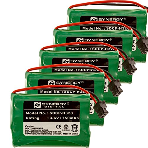 """Synergy Digital Cordless Phone Batteries - Replacement f..."