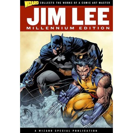 Wizard Jim Lee Millennium Edition Hardcover Book