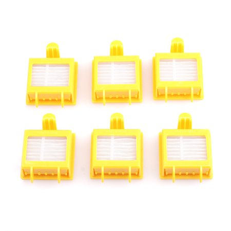 6Pcs HEPA Filter Compatible For Roomba 700 Series 760 770 780 790](roomba 595 pet series parts)