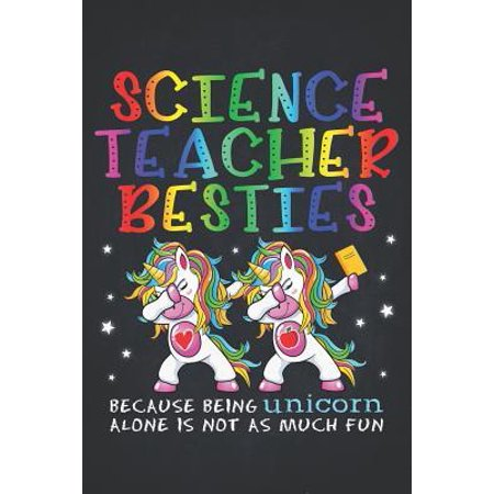 Unicorn Teacher: Science Teacher Besties Teacher's Day Best Friend Composition Notebook College Students Wide Ruled Lined Paper Magical
