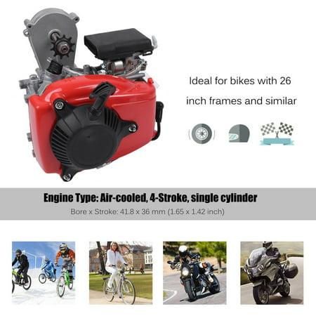 49cc 4 Stroke Gas Engine Motor Kit Motorized Bicycle Set