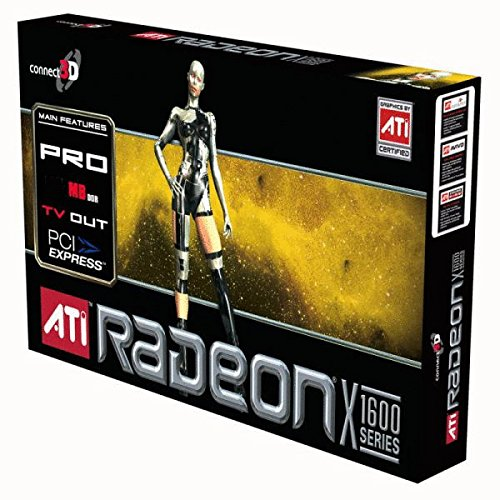 CONNECT3D 3049 Connect3D ATI Radeon X1600Pro 256MB DVI TV-out PCI-Express Video Card by Connect3D
