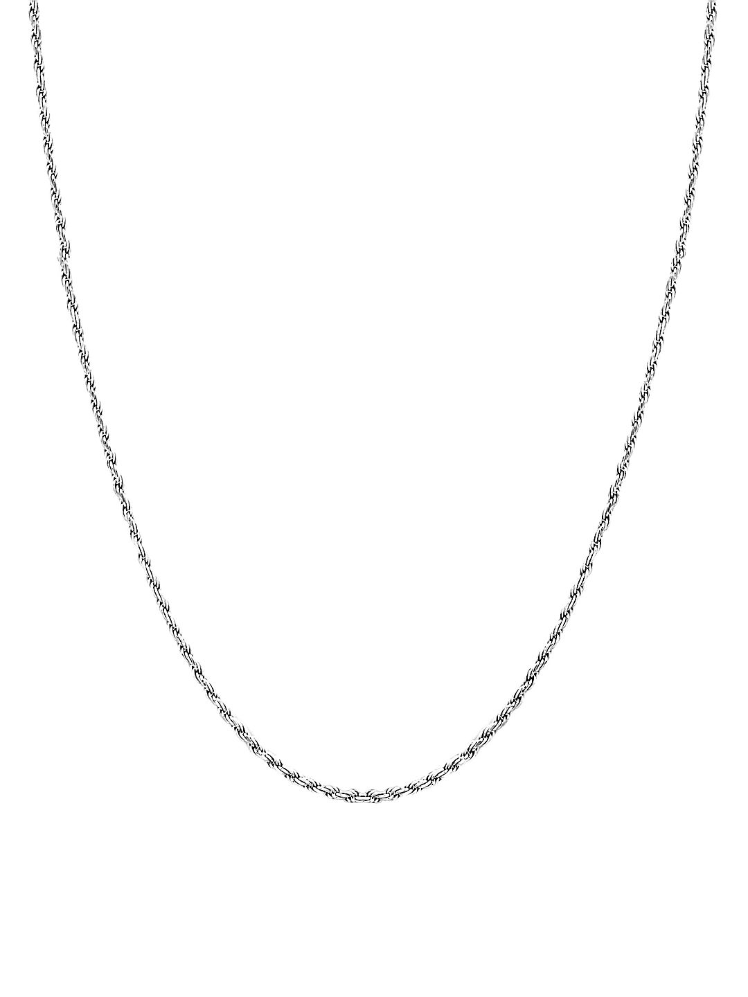 Snake Sterling Silver Chain Necklace