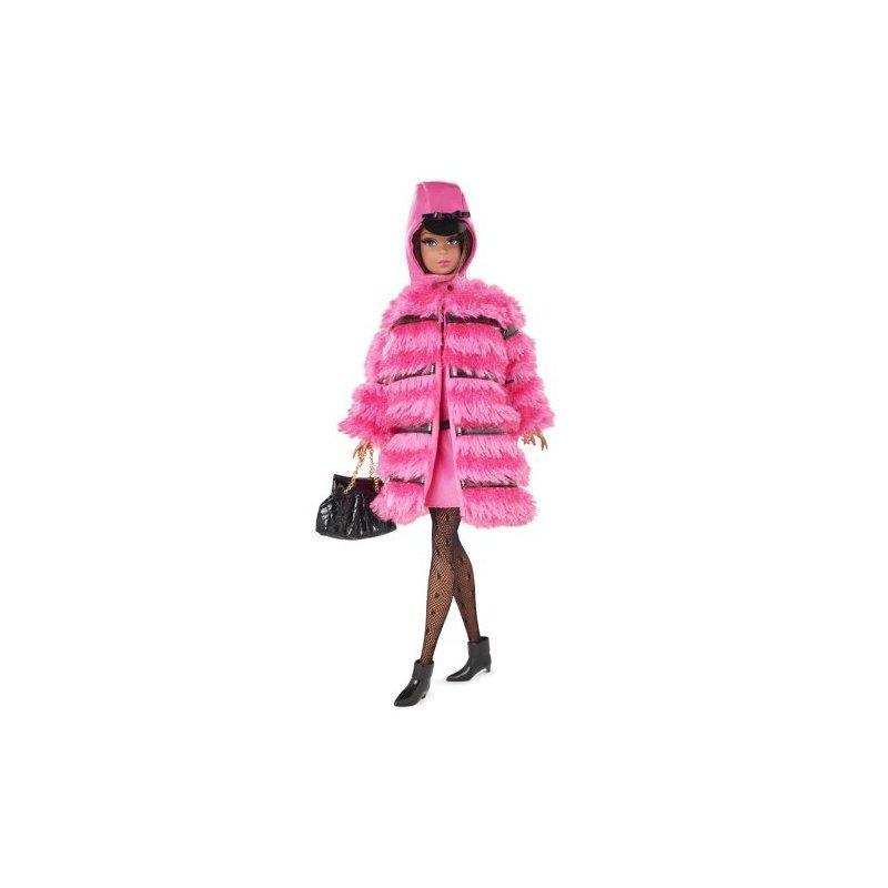 Mattel Barbie Fuchsia N Fur Francine (African American)