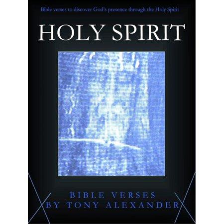 Holy Spirit Bible Verses - eBook (Bible Verses Fire Of The Holy Spirit)