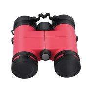 Qiilu 2Colors Child Kid Outdoor 8x30 Maginification Birding Binocular Children Telescope Toy Gift,Child Binocular, Kid Birding Binocular