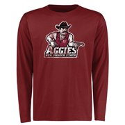 New Mexico State Aggies Big & Tall Classic Primary Long Sleeve T-Shirt - Maroon
