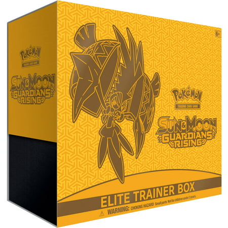 Pokemon Sun And Moon  Guardians Rising Elite Trainer Box Trading Cards
